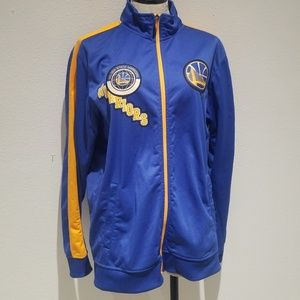 NBA Golden State Warriors zip up jacket sz.Large